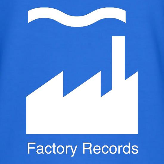 Factory Records t shirt
